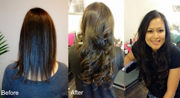 Chicago hair extensions salon in skokie before and after hair extensions pmusecretfo Gallery