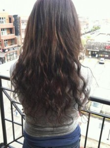 Hair Extensions Example for Naperville