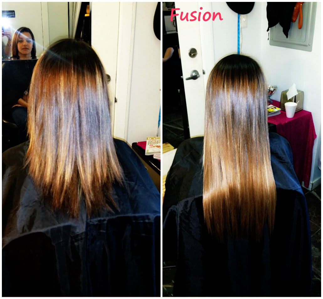 Fusion Extensions Hair Extensions