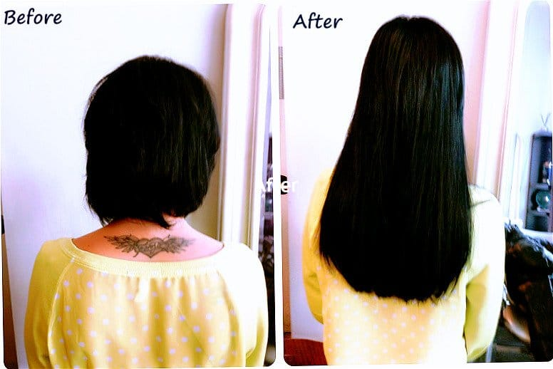 Hair Extensions For Short Hair Applied In Chicago By Areta At Http
