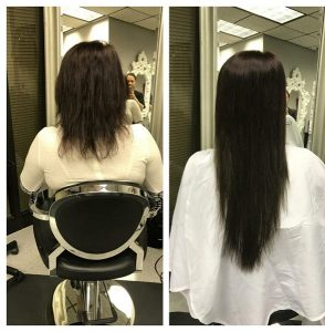 long brown hair extenions