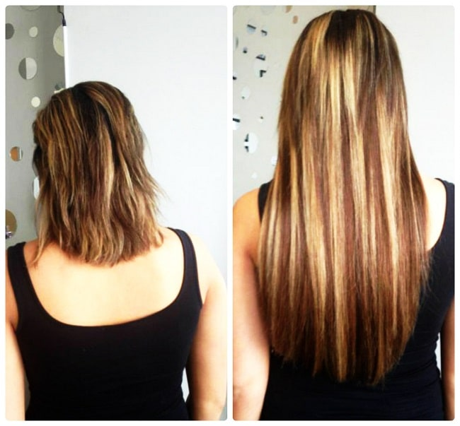 Chicago hair extensions salon in skokie before after hair extension pmusecretfo Image collections
