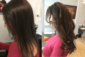 long black hair extension