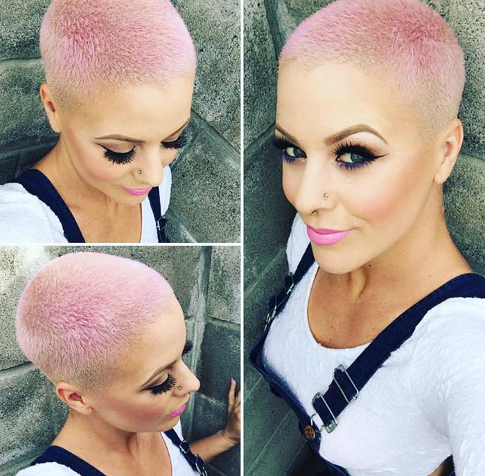 2017 Hairstyle Summer Buzz Cut Inspired By Celebrities Hair