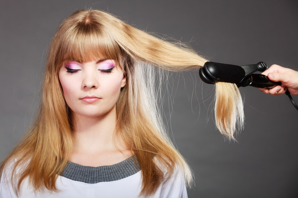 flat iron hair extensions