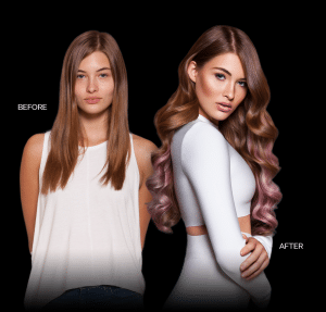 The Best Tape In Weft Hair Extensions In Chicago 773