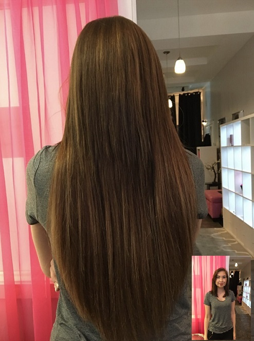 Tape-in Hair Extensions in Chicago, IL