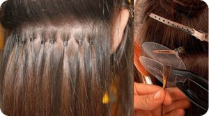 Extensions removal process.