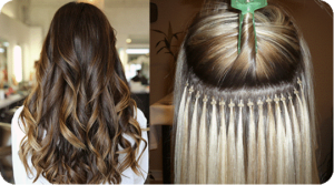 Costs for micro bead hair extensions.